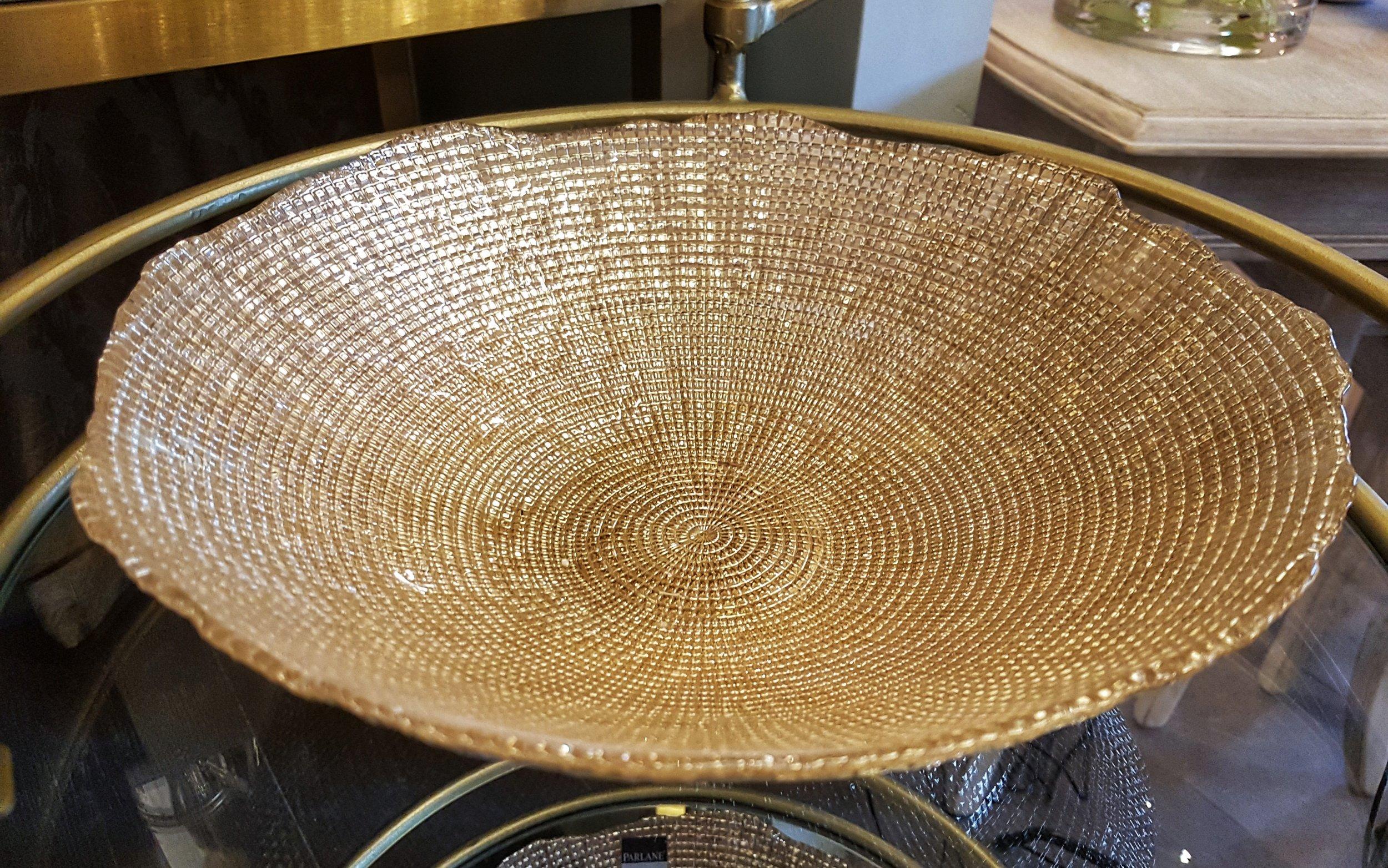 Gold bowl - £29