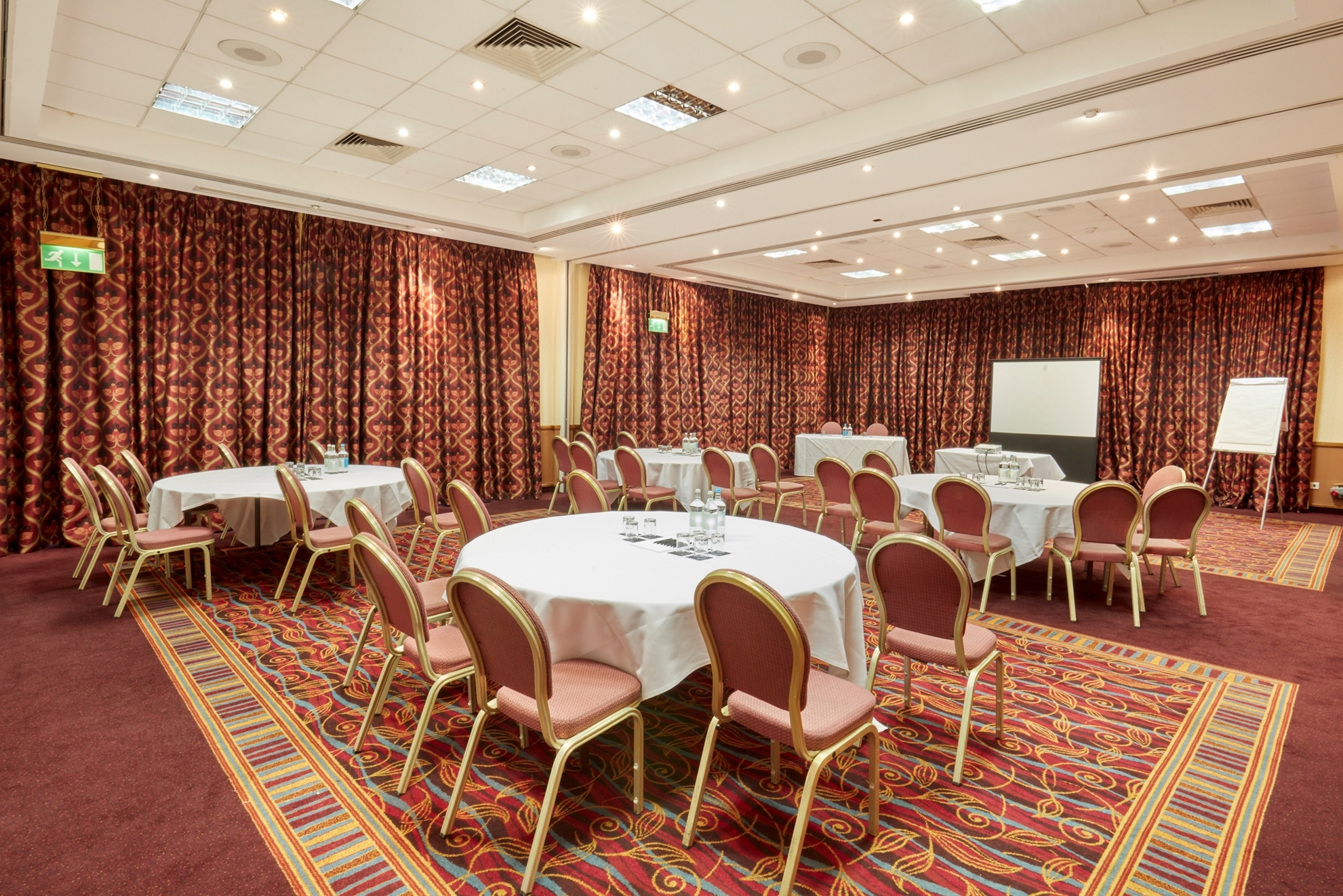 Before… (Image by Celtic Manor)