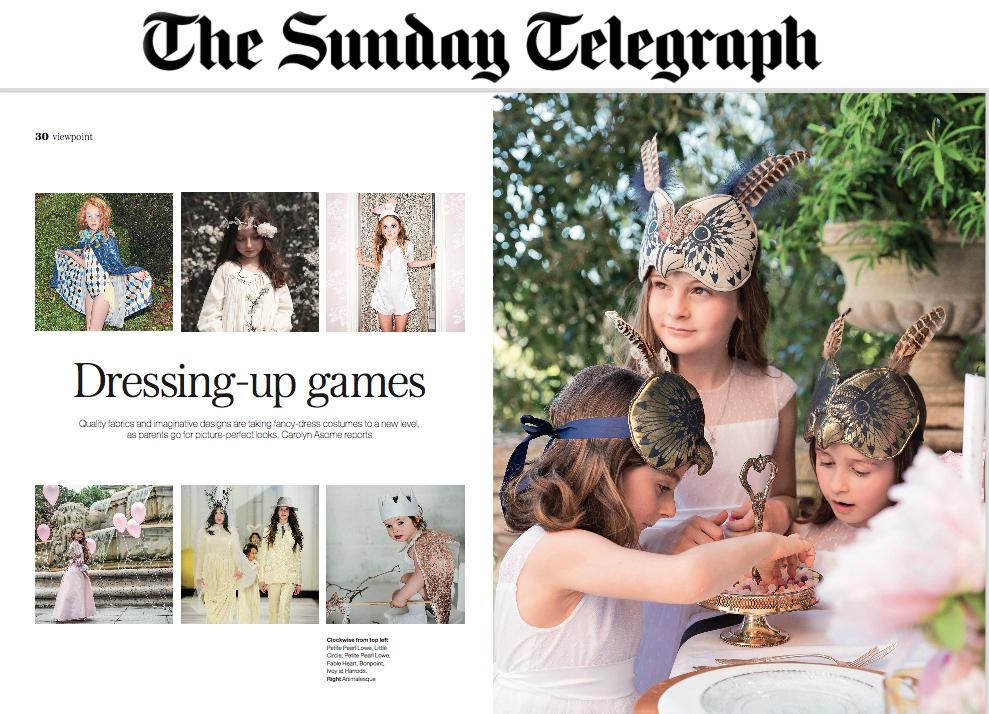 The Sunday Telegraph. Kids supplement