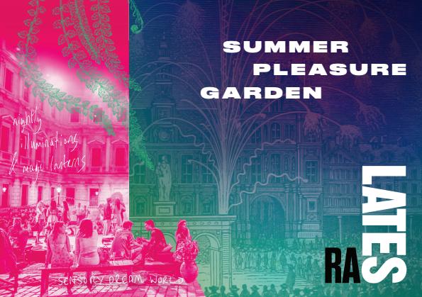 Summer Pleasure Garden. RA 2018