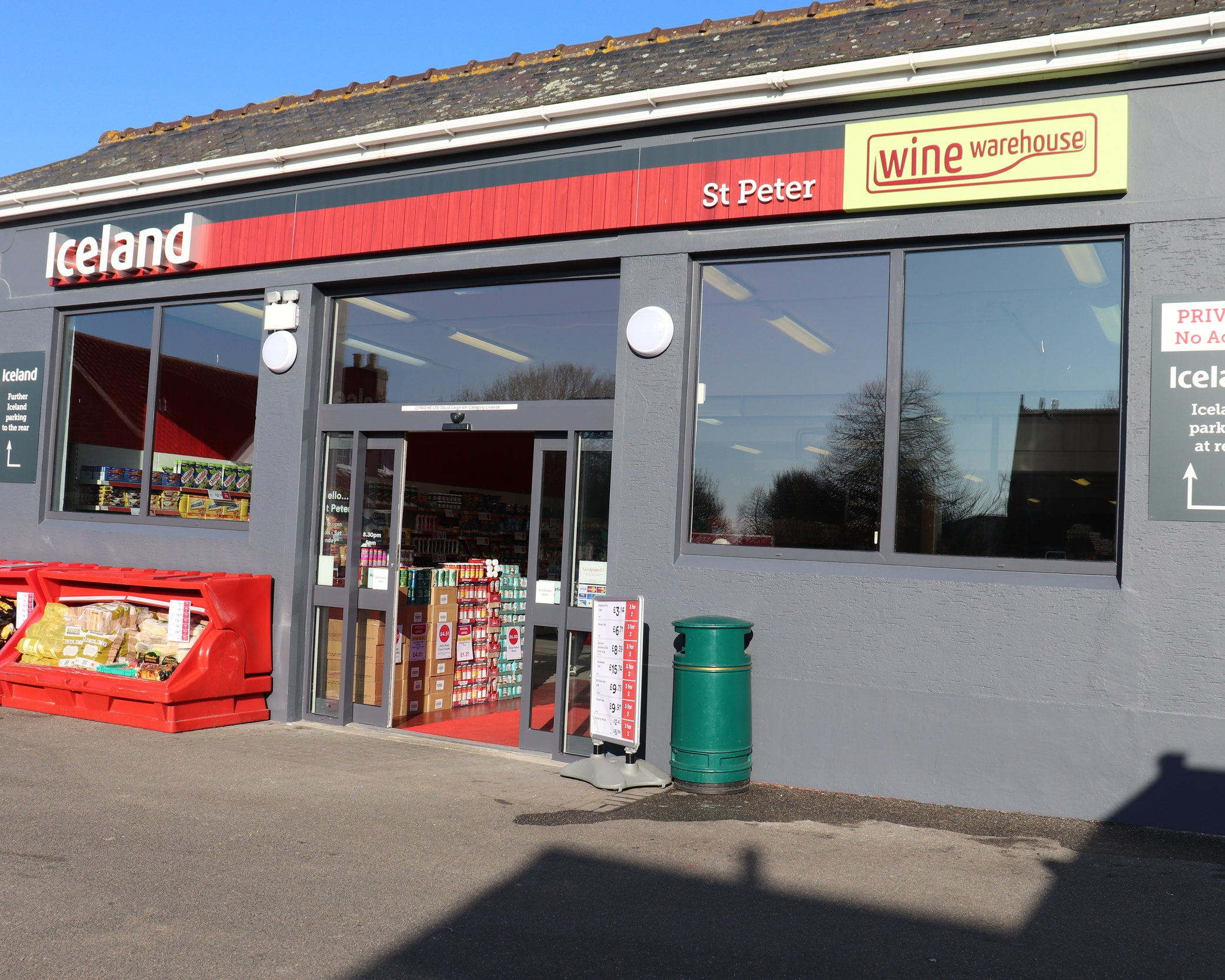 Your newly refurbished Iceland St Peters Store -