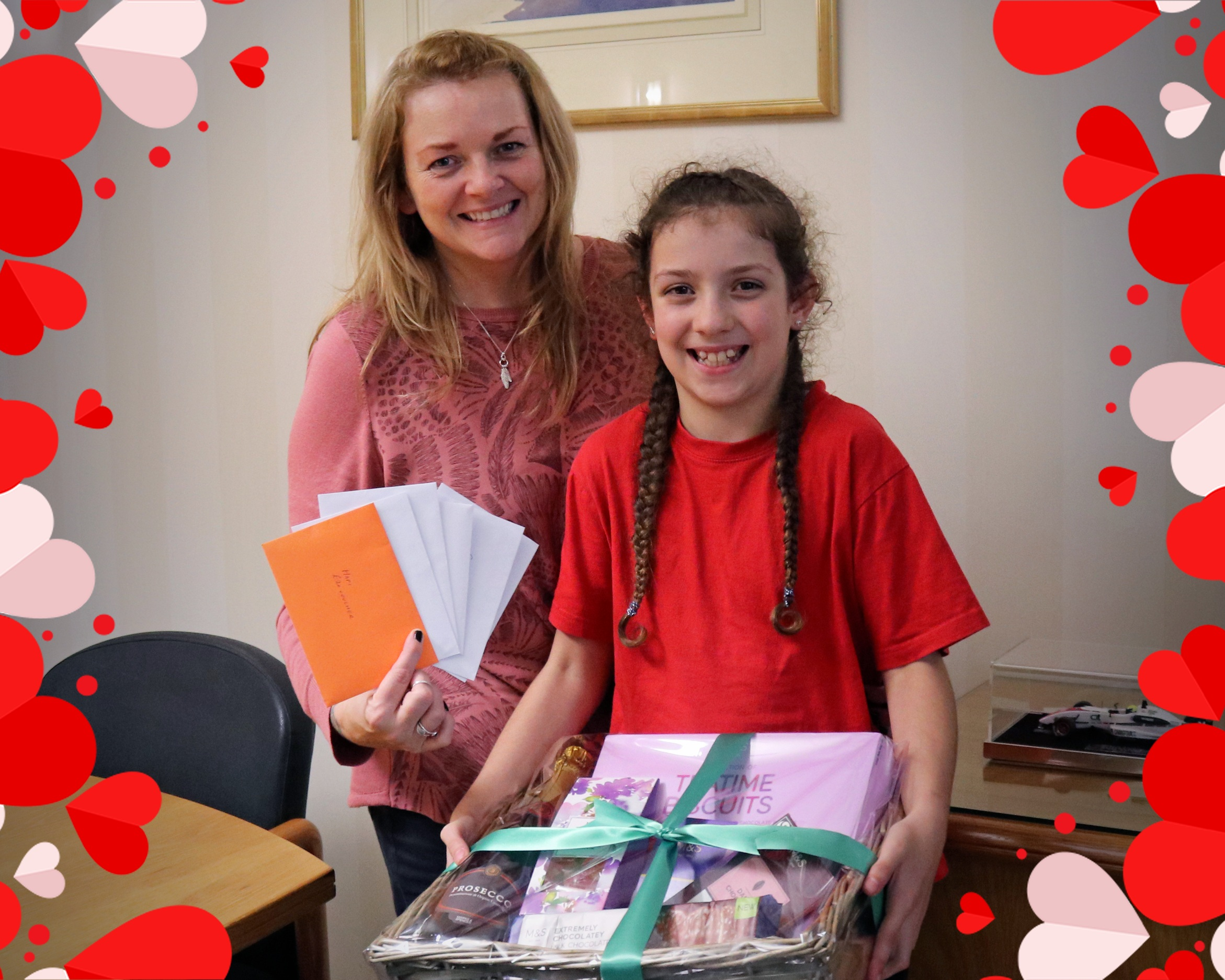 Winner of Liberty Wharf's Vote for your Valentine Competition -