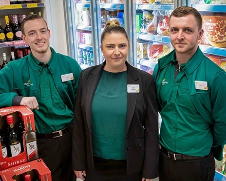 Morrisons Daily now open at Perrell -