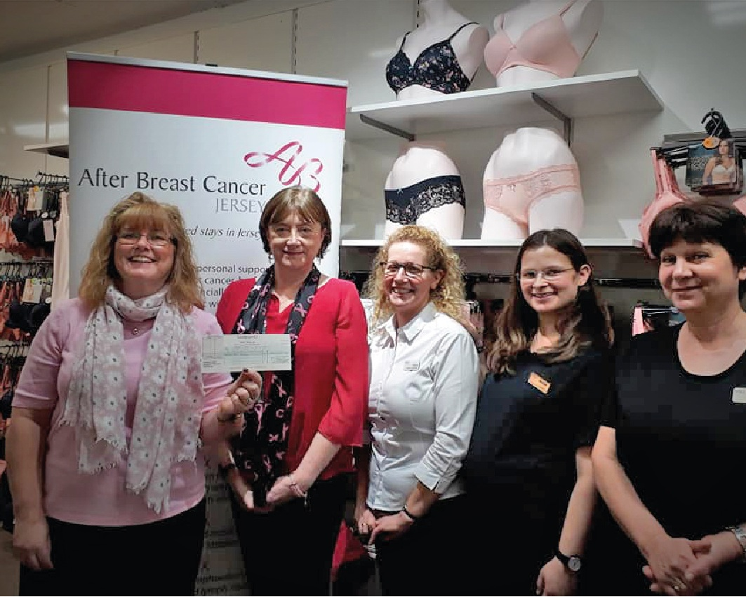 M&S raises over £2200 for After Breast Cancer -