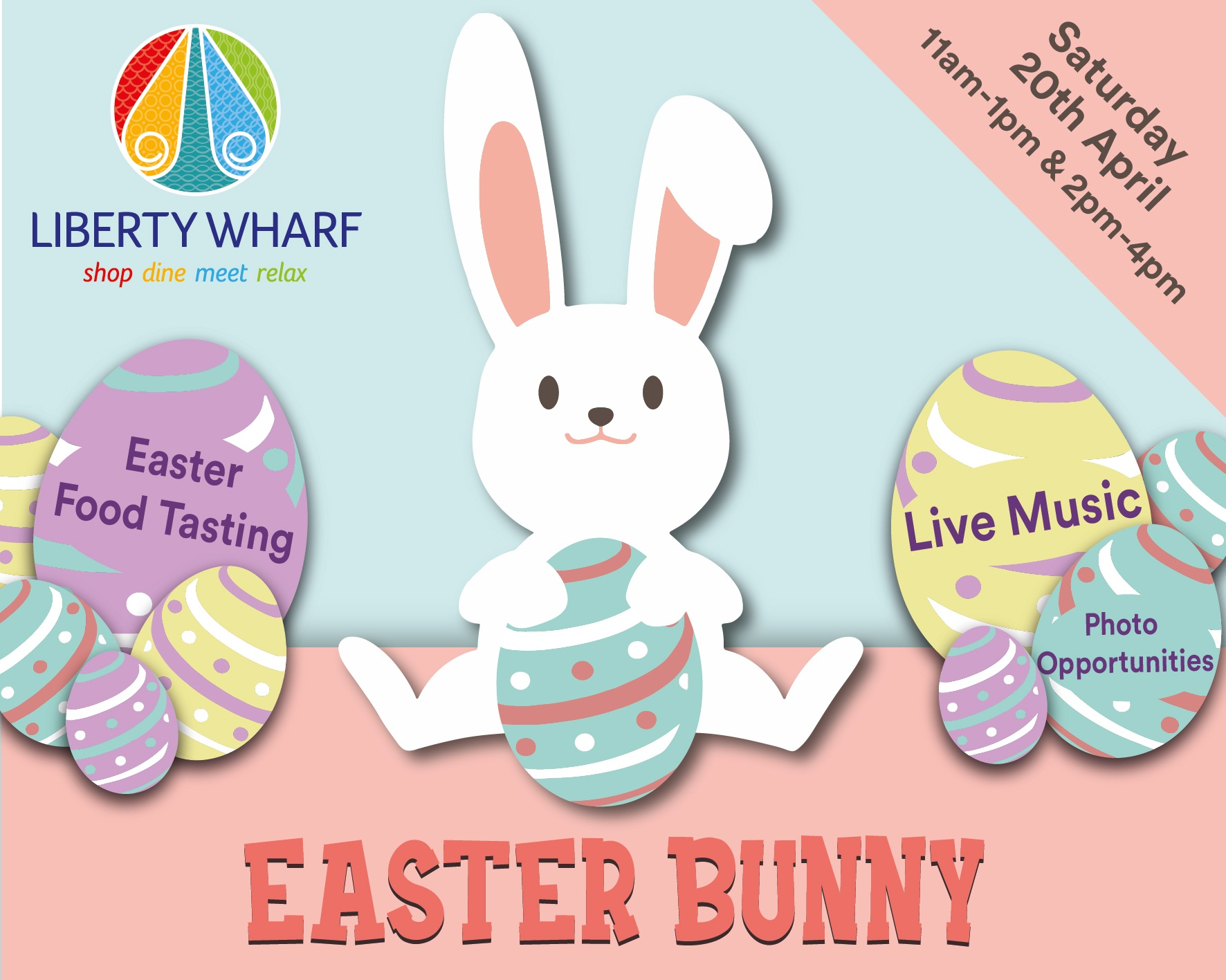 Easter Bunny Meet and Greet at Liberty Wharf -