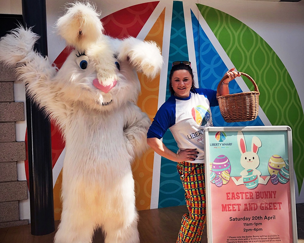 Cracking Easter Fun at Liberty Wharf -