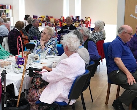 SandpiperCI contribute to Good Companions Easter lunch -