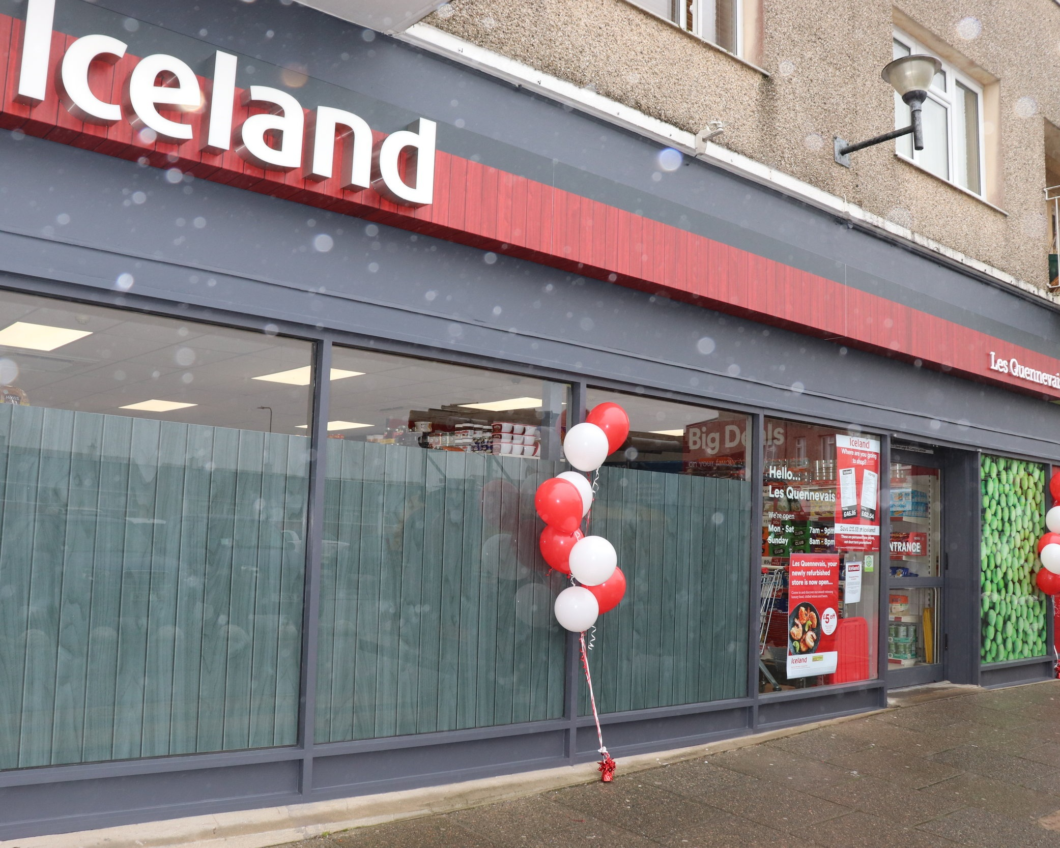 Your newly refurbished Iceland Les Quennevais Store -