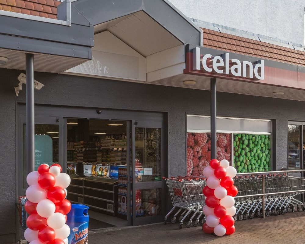 Your newly refurbished Iceland St Martin Store -