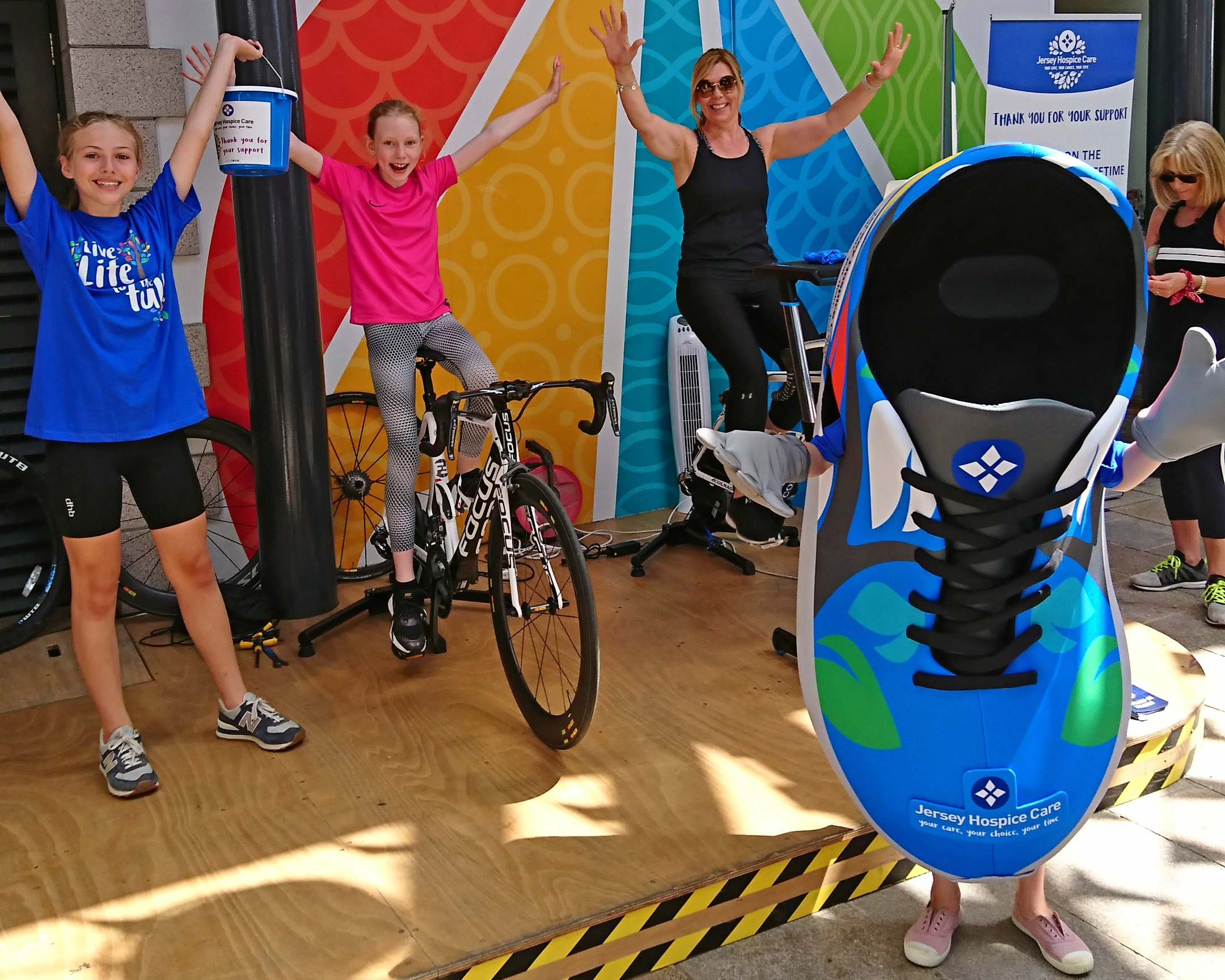 Susan's Cycle Challenge for Jersey Hospice Care -