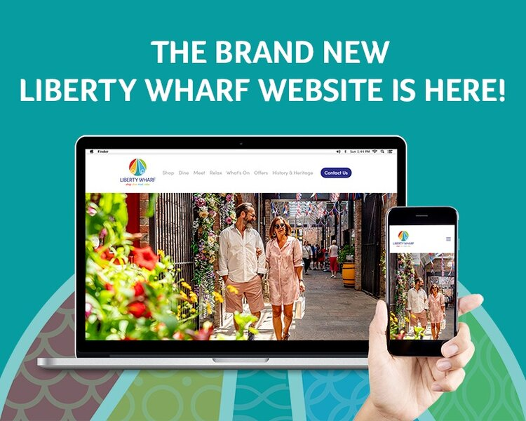 The Brand New Liberty Wharf Website is Here! -
