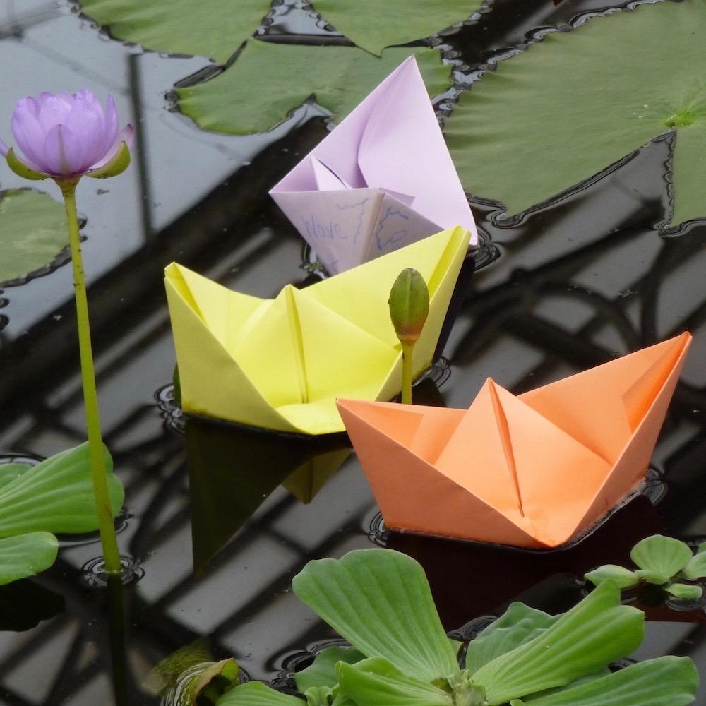 Origami Square Twist Box Tutorial - Paper Kawaii | 1000x1000