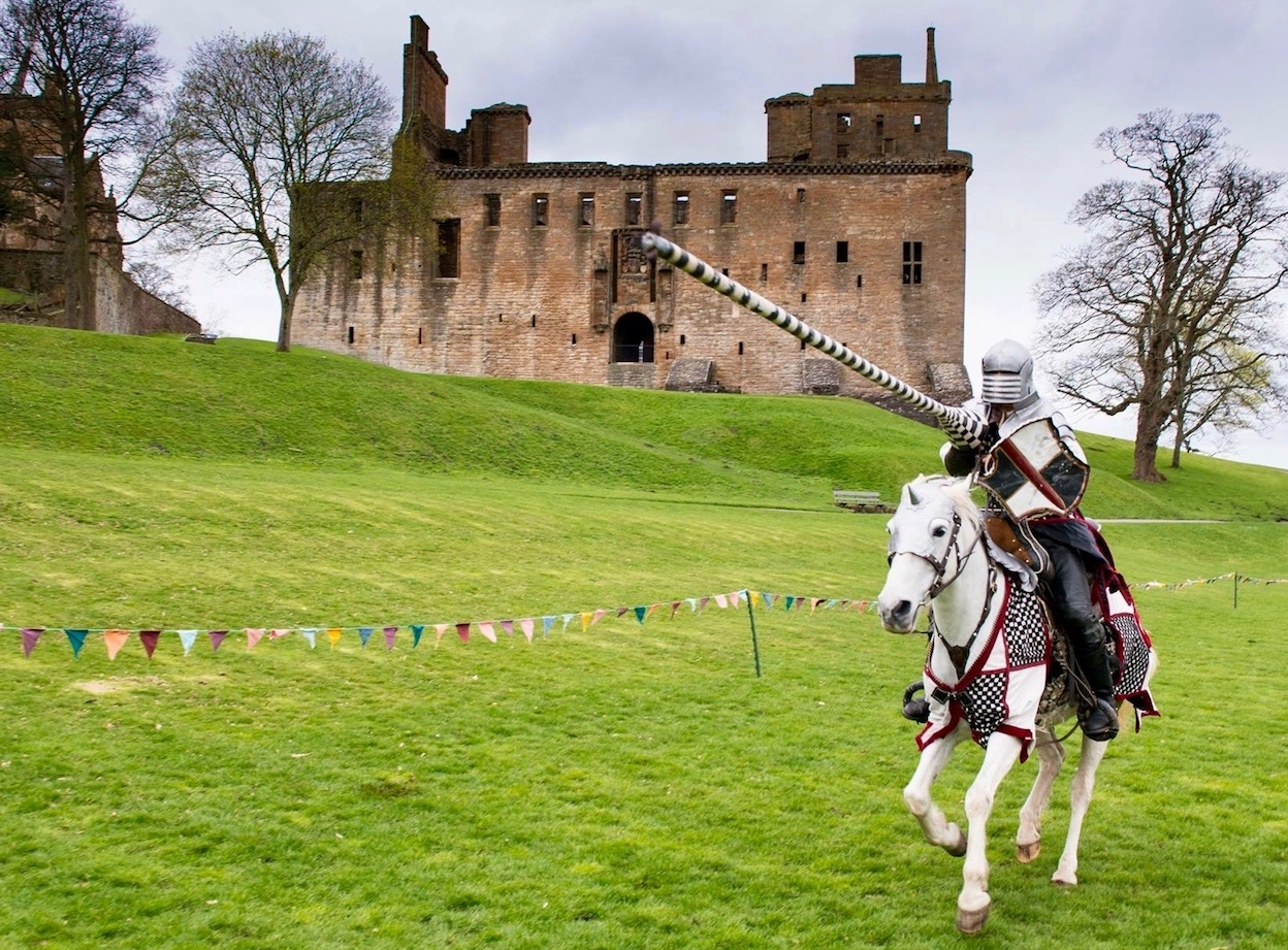 Jousting Helmets, Linlithgow Palace -