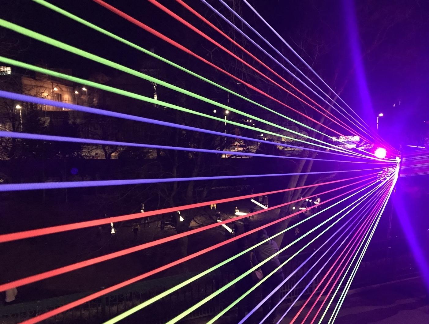 UV Bungee Installations -