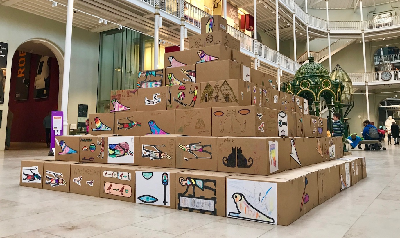 Pyramid Building, National Museum of Scotland -