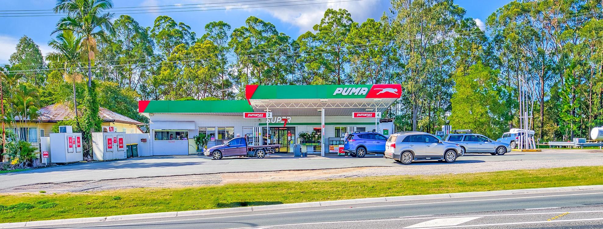 Puma Fuel Station, D'Aguilar