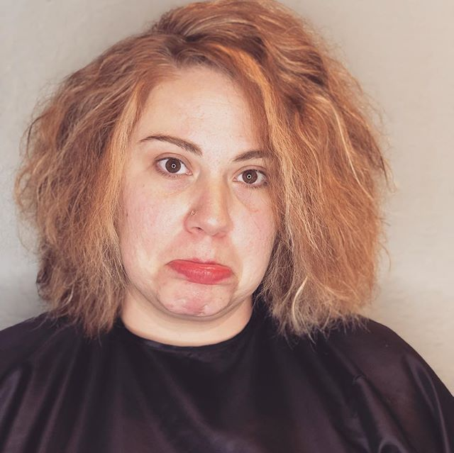 #beforeandafter #fromsadtohappy #licensedtocreate #keratintreatment #nomorefrizz #brentwoodca #brentwood #eastbaysalon #925salon #925hairstylist #eastbaysalon #eastbayhairstylist Hair by... @irunwithscissorz74