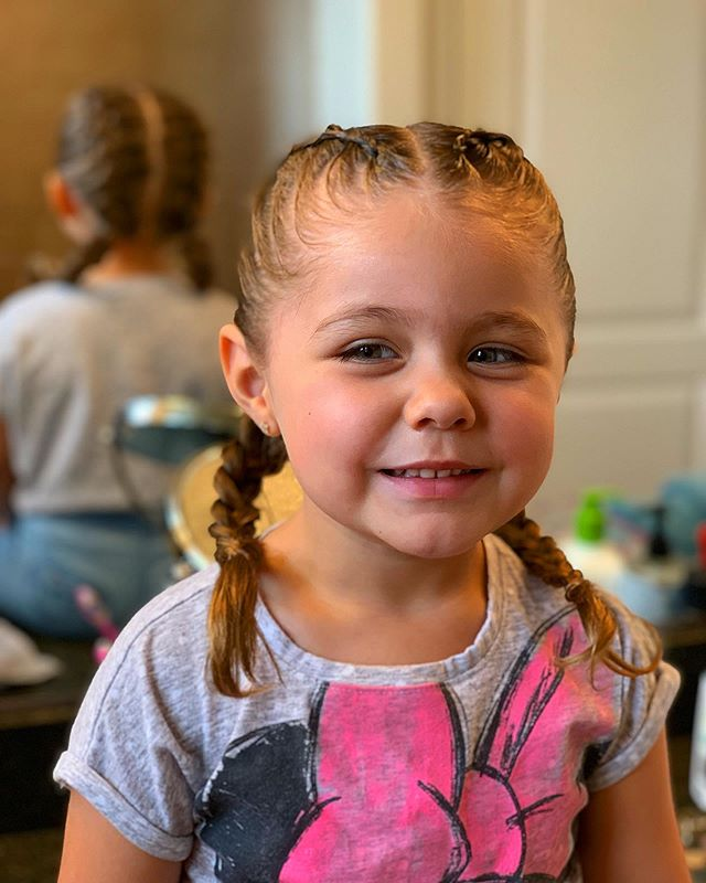 B A B Y 👶🏻 B R A I D S — As good as it's gunna get for a 3 year old lol  #babybraids #braids #hairdo #hairstyles #hairlove #braidstyles #braidedhairstyles #hairlove #passion #art #babyhairstyles #kidscuts #kidhairstyles #fortheloveofhair