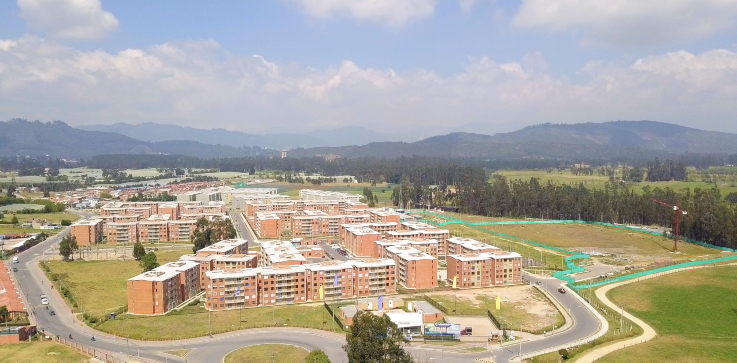 SBC project Caminos de Sie North of Bogota, Colombia.