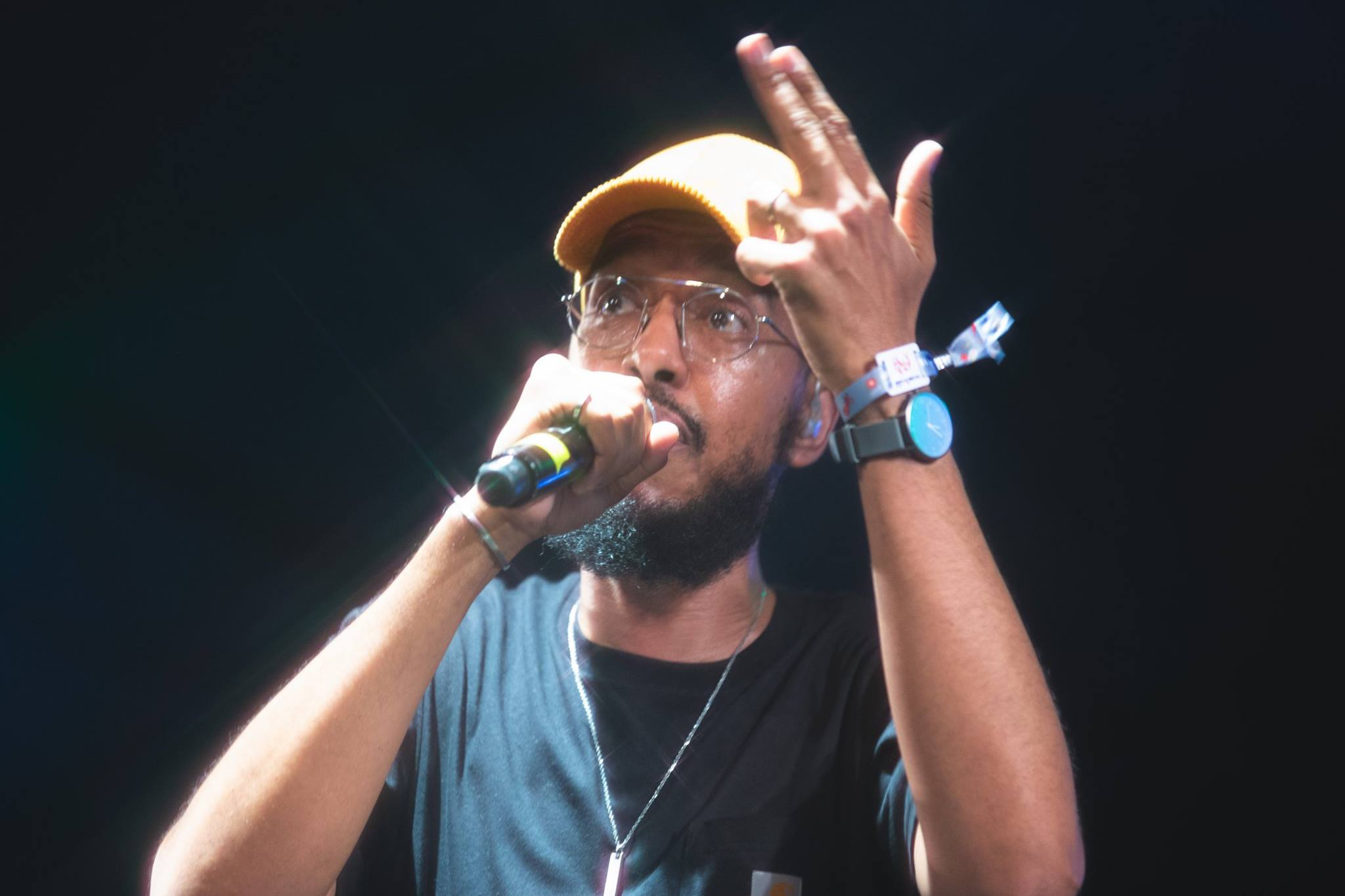 Oddisee Played the Khao-Horm Stage
