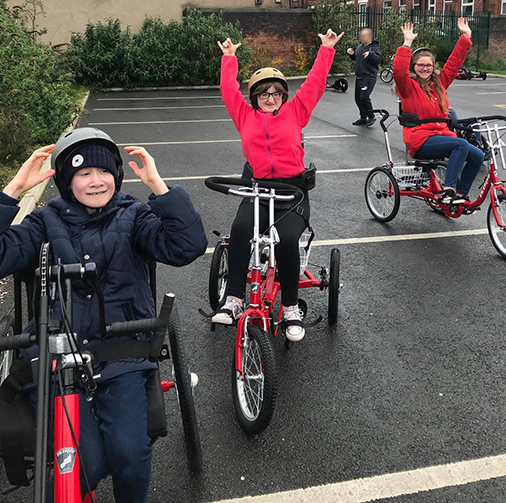 Thanks to Scope we are able to deliver Adaptive Cycle sessions for groups. - contact us for more info!
