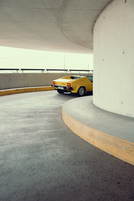 Lamborghini Jalpa, super fun drive.