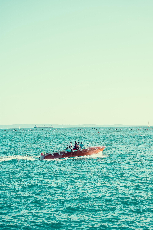 Aquarama at sea.
