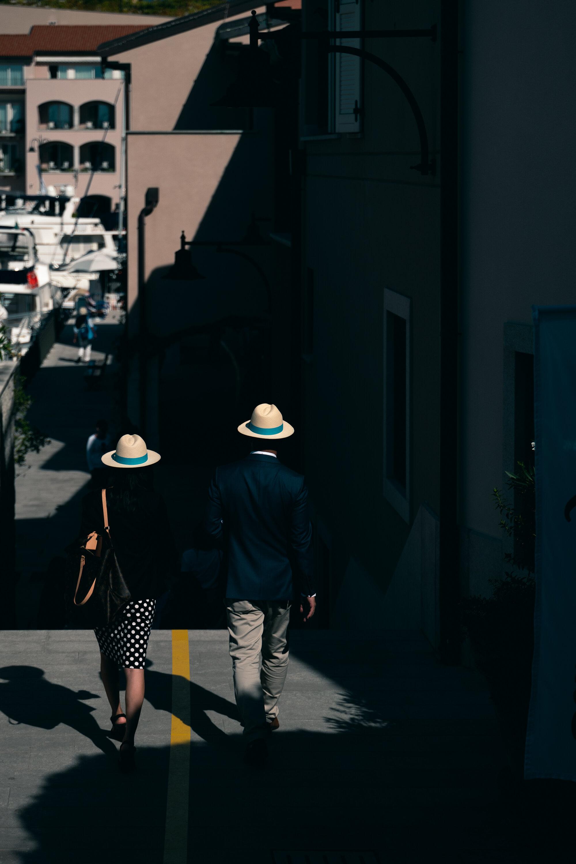 Judges walking in light.