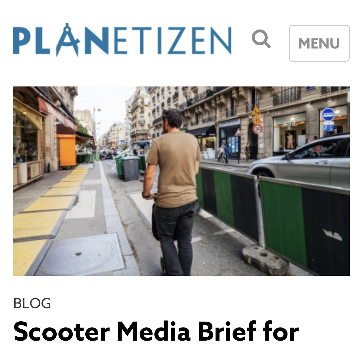 Planetizen - Planetizen: The independent resource for people passionate about planning and related fields. Planning: A professional practice and an academic study focused on the future of built environments and connected natural environments—from the smallest towns to the largest cities and everything in between.https://www.planetizen.com