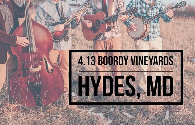 @boordyvineyards This Saturday!!! - - - - - #bluegrass #instruments #musicians #music #festival #bar #restaurant #guitar #mandolin #banjo #bass #brothers #weber #fairbuilt #pennsylvania #maryland #nashville #instagood #instastyle
