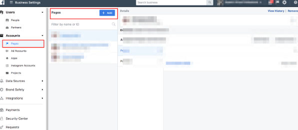 Adding people to Facebook Ads Account