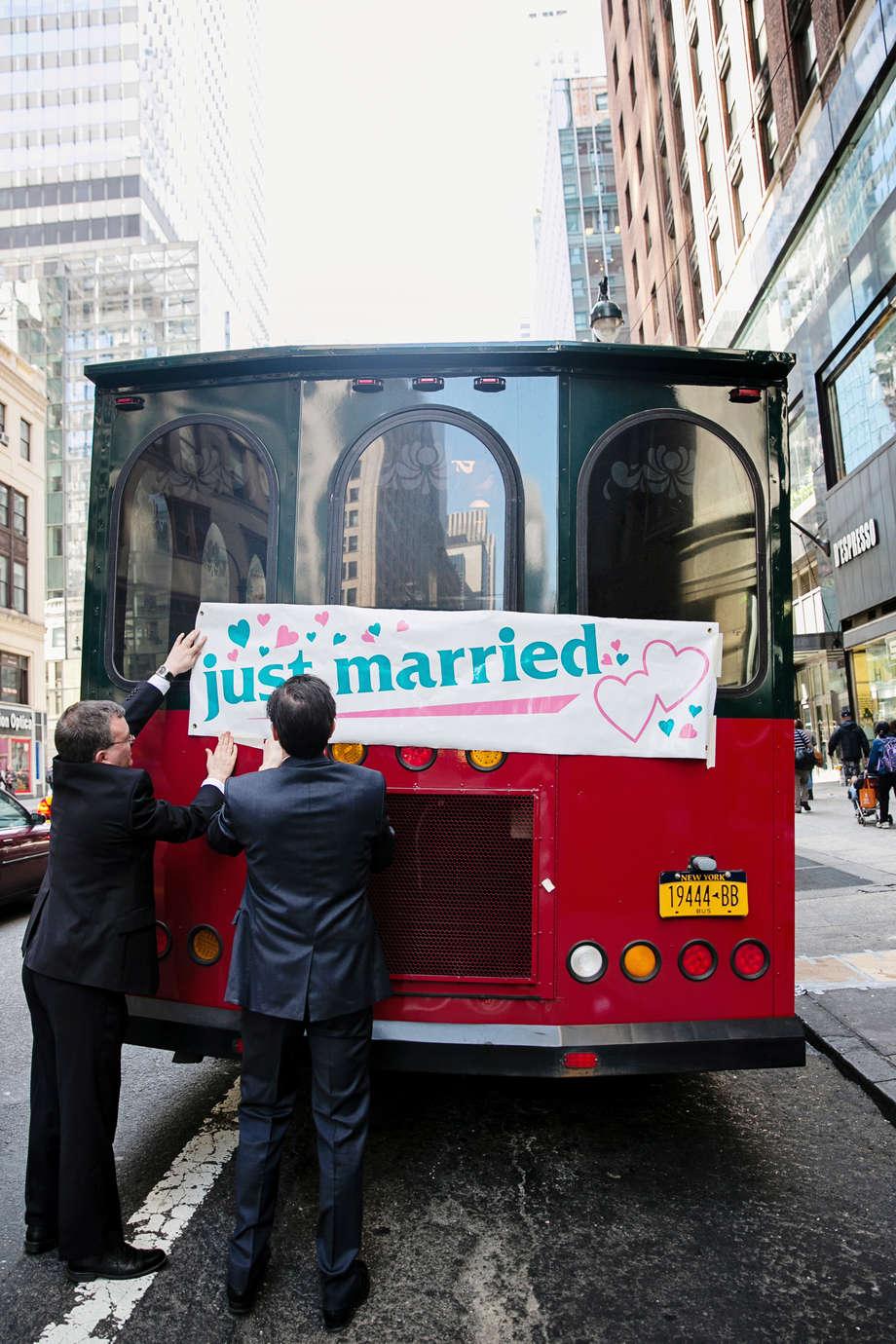 Creative and unique NYC wedding ideas