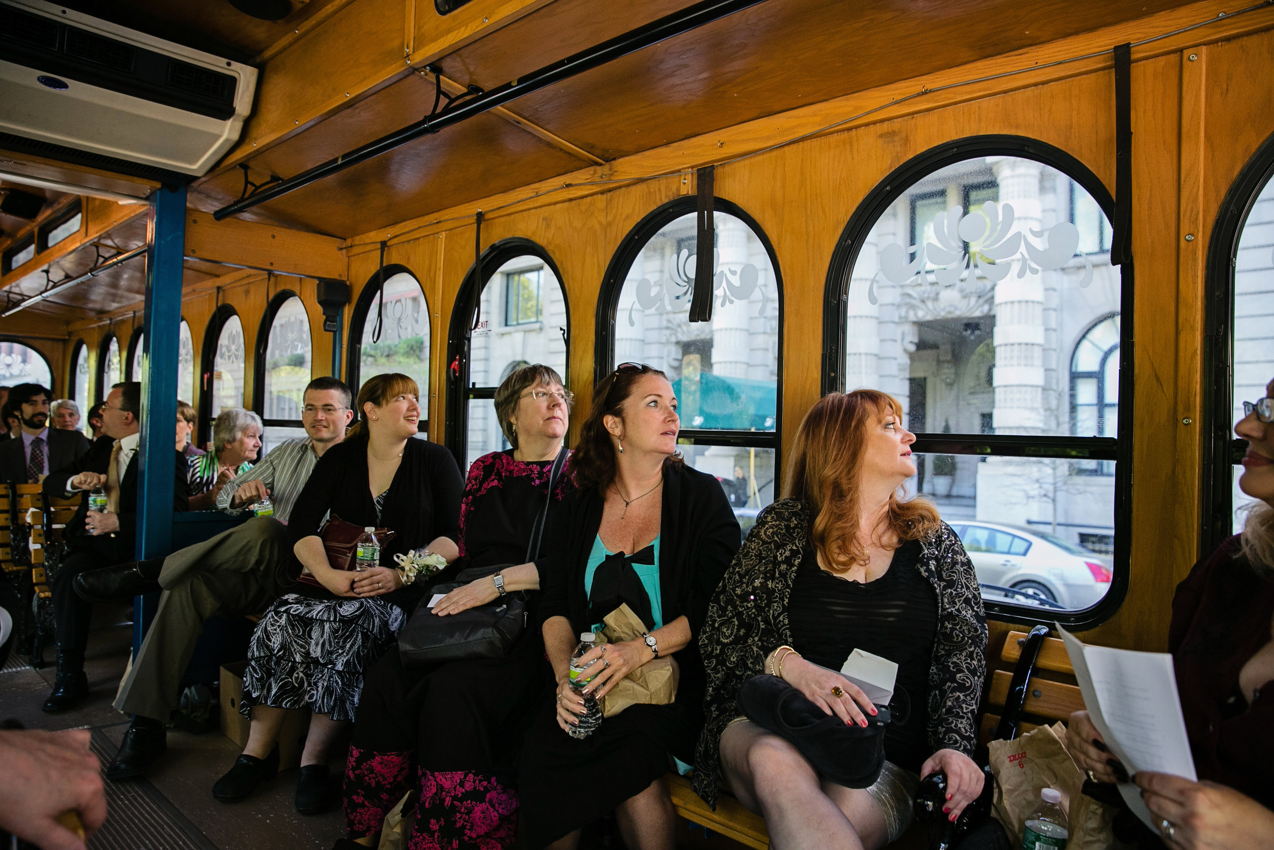 NYC Coach bus rental for corporate event