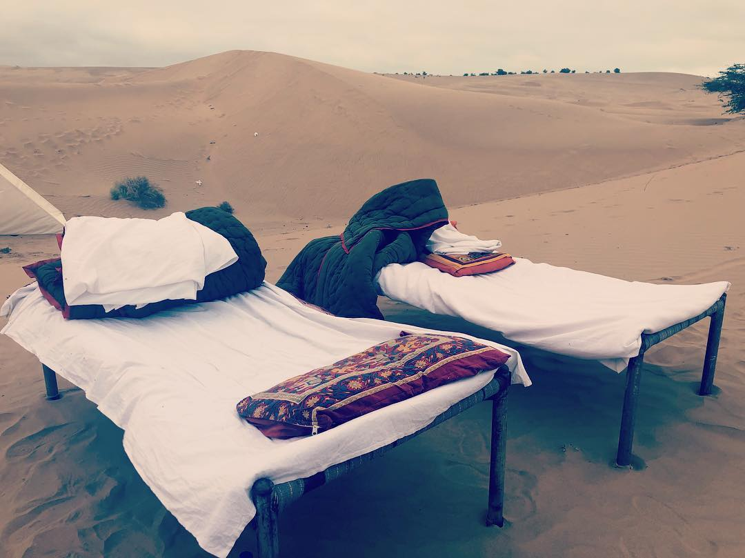Sleeping under the stars- Thar Desert Jailsamer