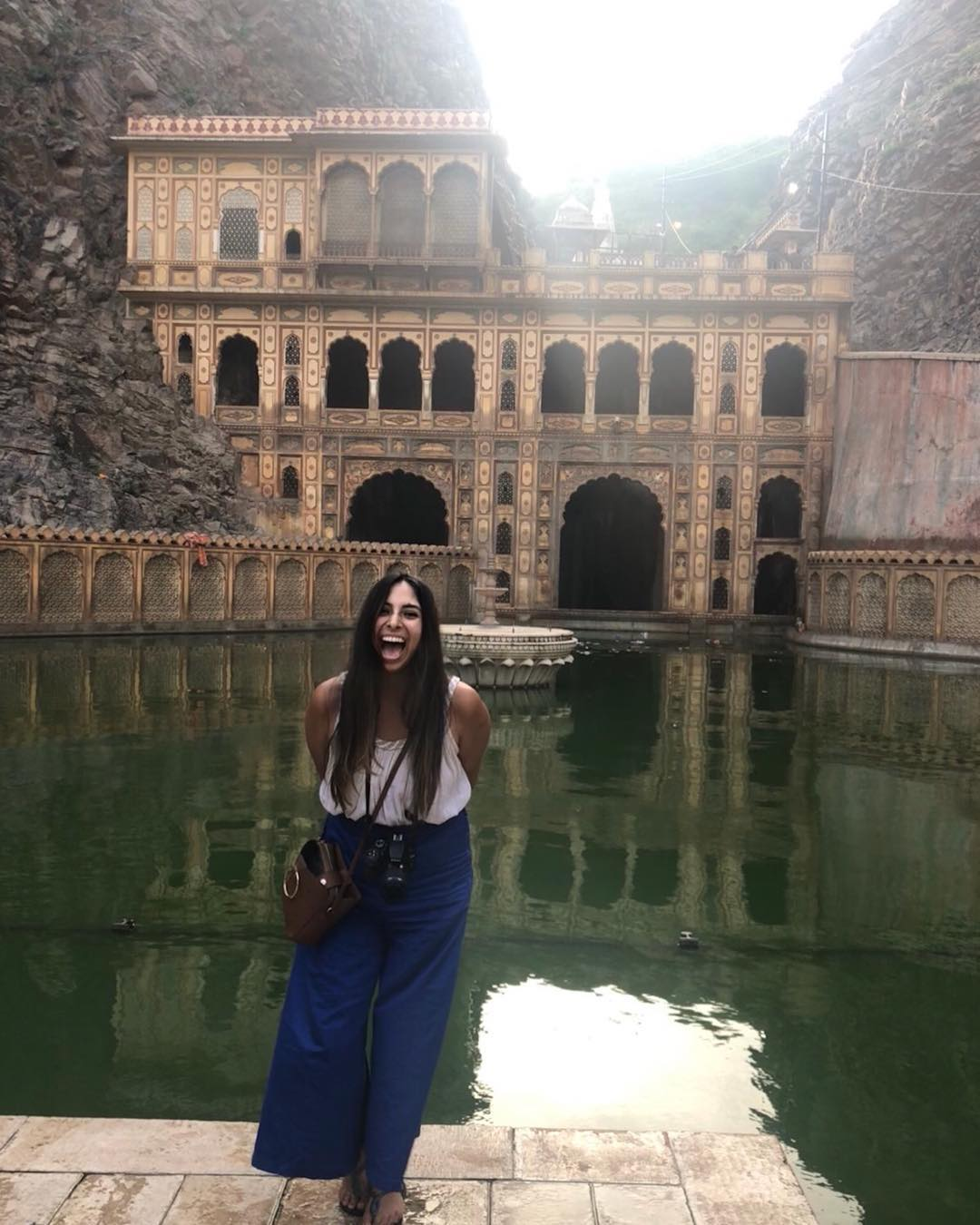 Rediscovering the beauty of hardcore laughter - Monkey Temple Jaipur