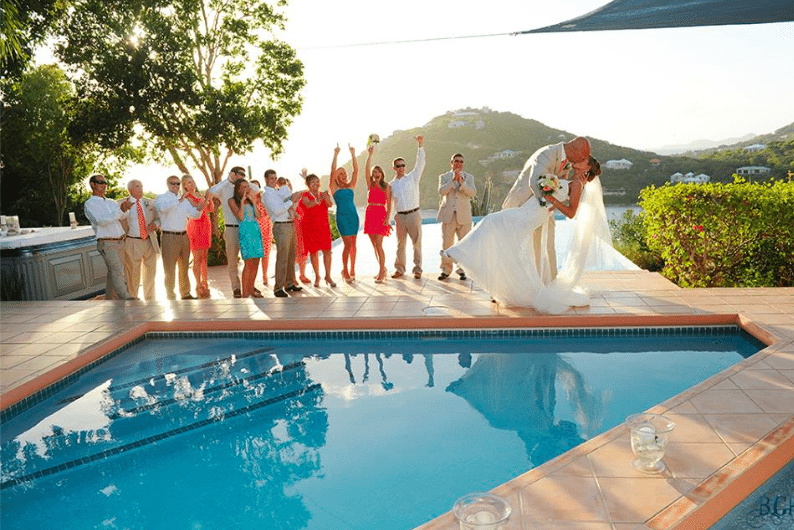 We've had multiple dozens of wedding groups stay, get married at, and have their receptions at Great Expectations
