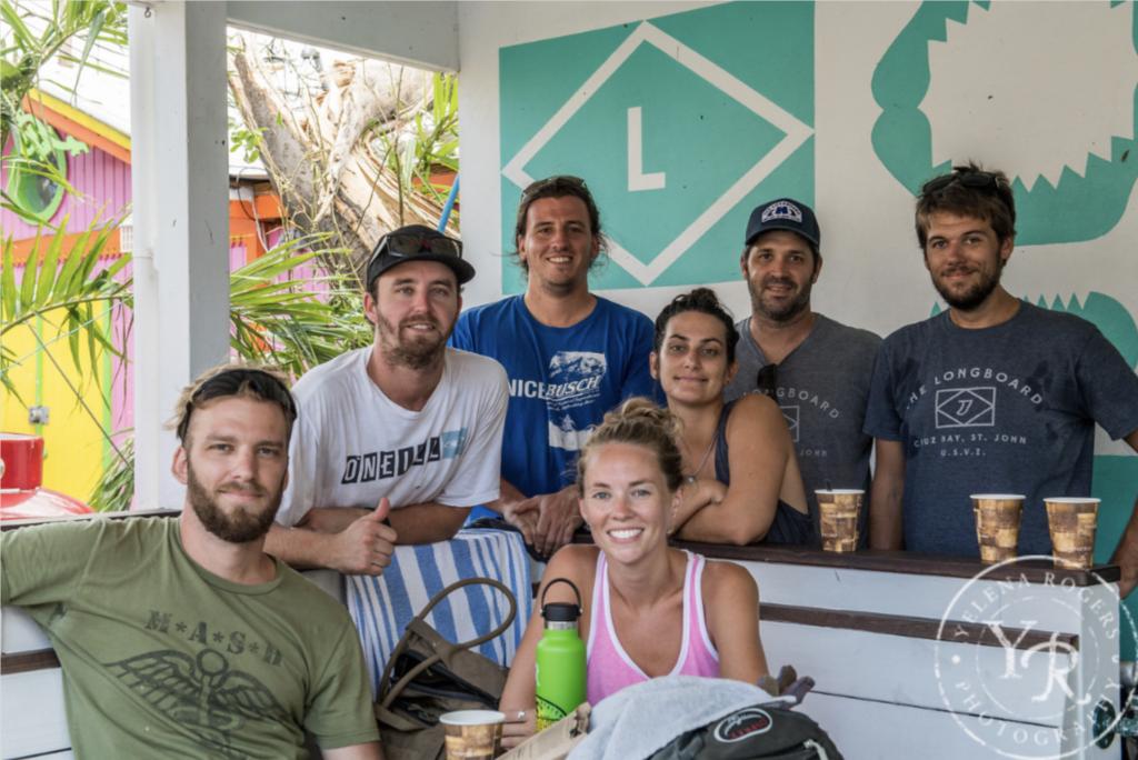 The longboard crew