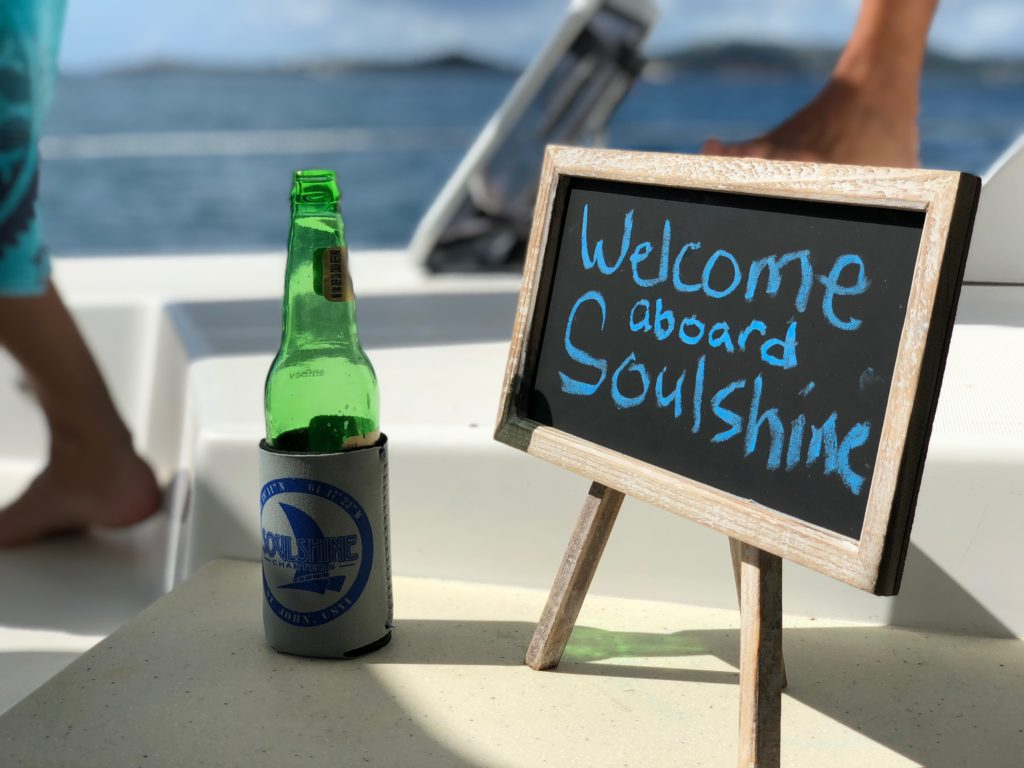 Soulshine welcome sign