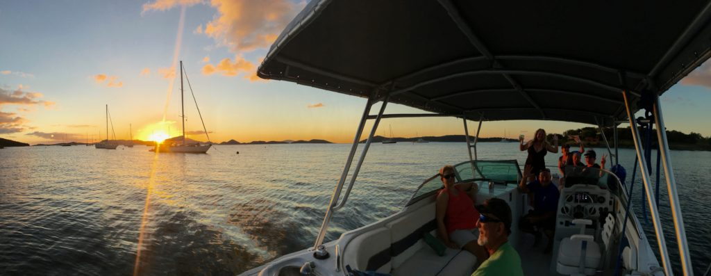 Sunset in March 2016 Caneel Bay