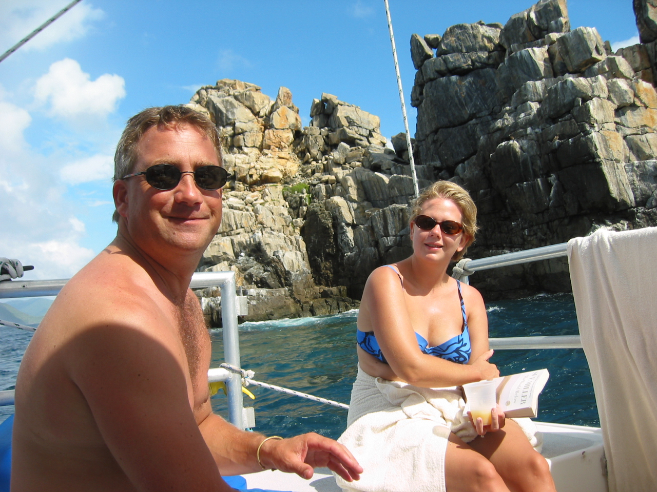 Day 4 - All day sailboat snorkel trip on Calypso catamaran!