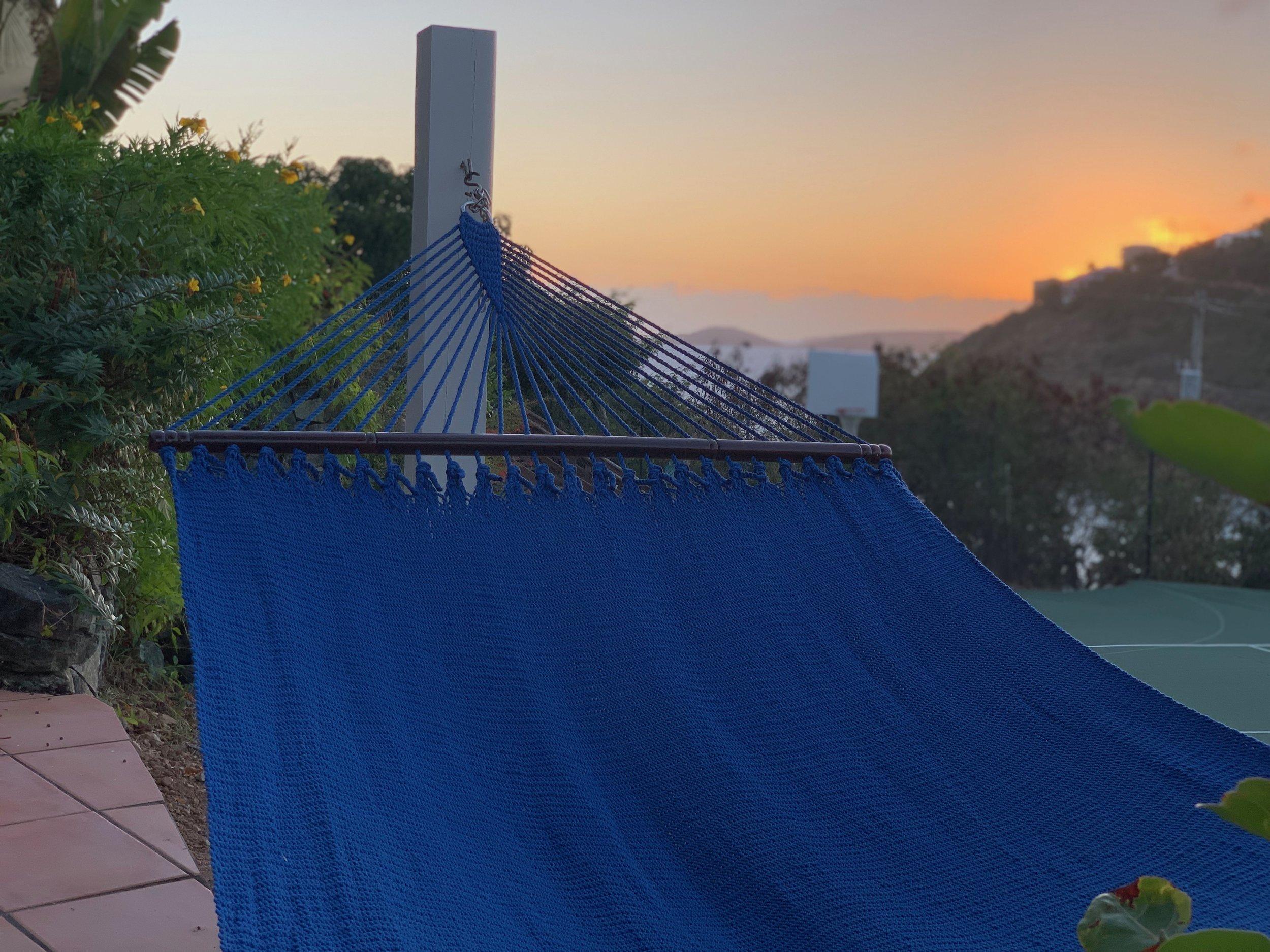Sunset from Hawksnest suite