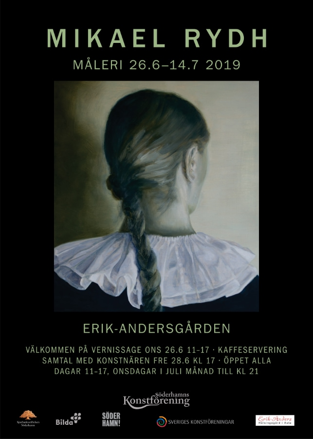 Upcoming solo exhibition (26.6–14.7 2019) at  Erik-Anders , on of the Hälsingland Farmhouses inscribed on UNESCO´s World Heritage List.
