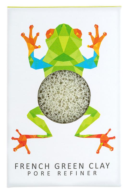 mini-eponge-konjac-visage-peau-mixte-a-grasse-argile-verte-edition-limitee
