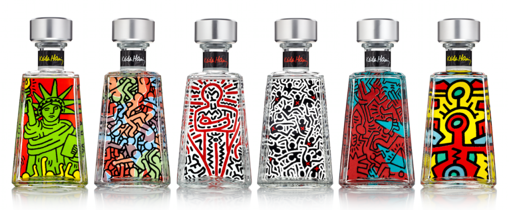 Keith-haring-Bottle