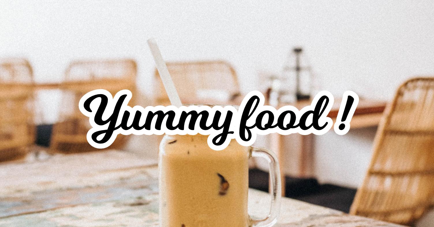 milkshake-font-yummy