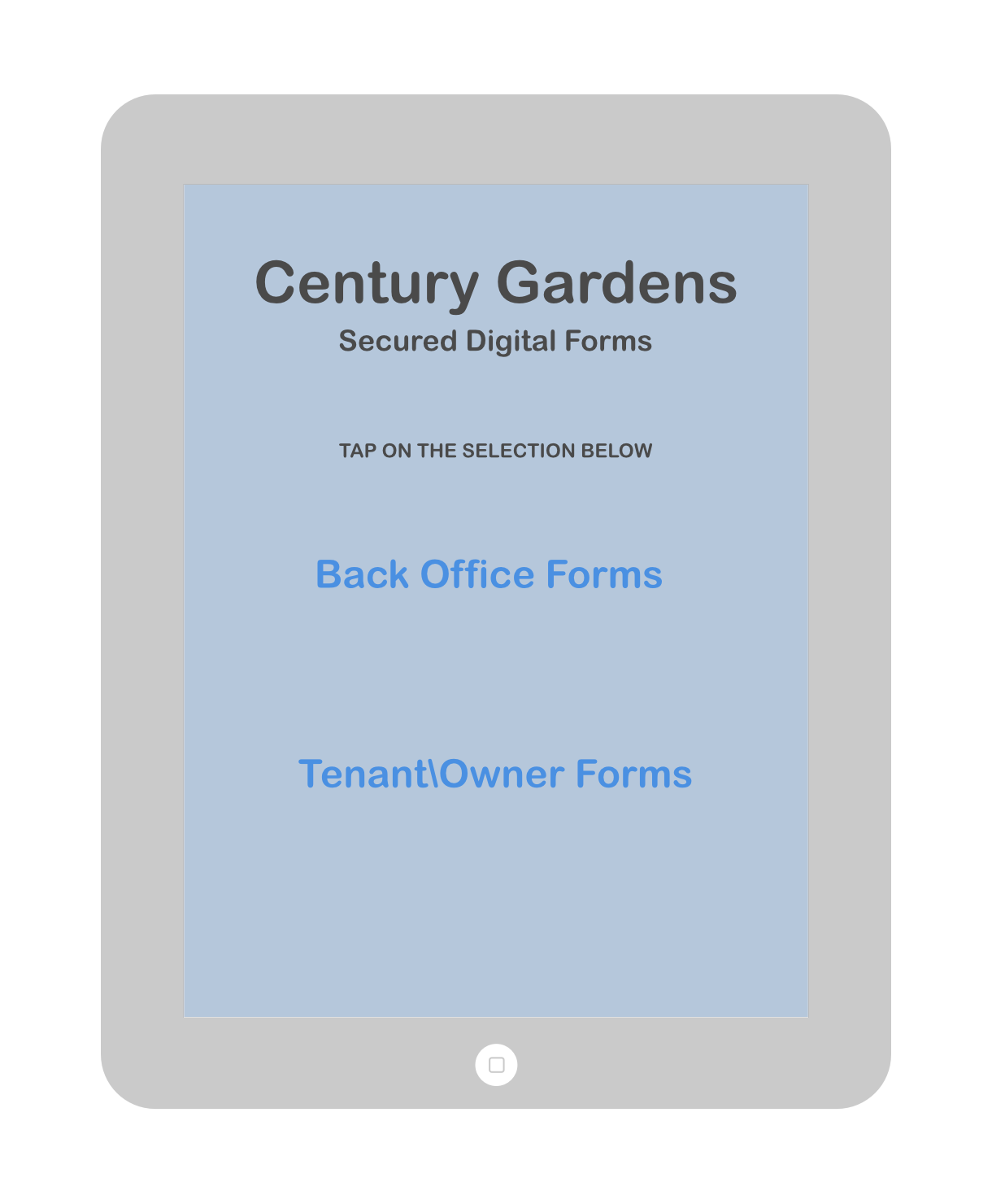 Century Gardens Main Screen Blue.png
