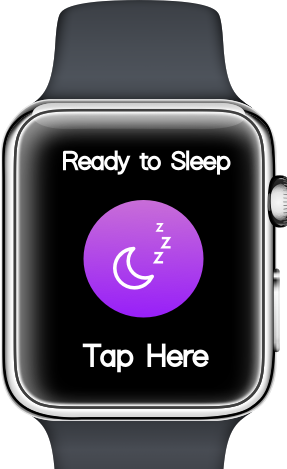 Sleeping made easier.Just a tap away. - When enabled you can just tap on your watch or smartphone.You can then rest easy, your alarm has been set, and your immersive sleep experience can begin.