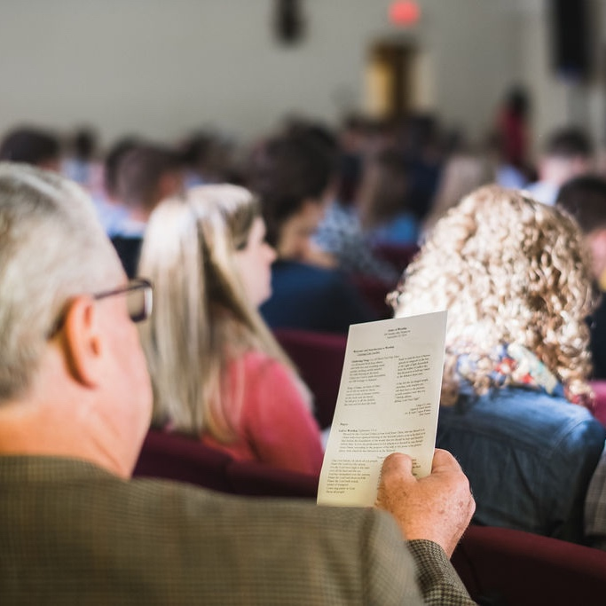 Flow - Our Sunday services have a similar flow each week. To get an idea of what happens during our services, take a look at a recent bulletin or listen to the sermon series preached on our liturgy.