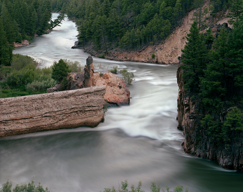 Breached Dam at Sunbeam, Salmon River, Custer County, Idaho, 2011