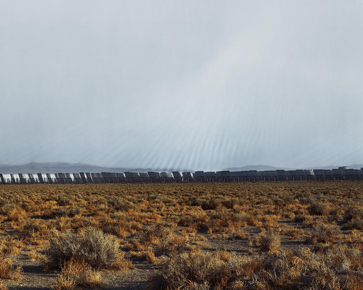 Crescent Dunes Solar Energy Project, Near Tonopah, Nevada, 2015